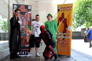 Newport's own film, TV and comic con to return for second year